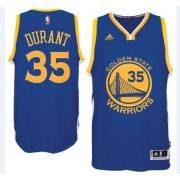 Golden State Warriors Basketball Trøjer 2015-16 Kevin Durant 35# Road..